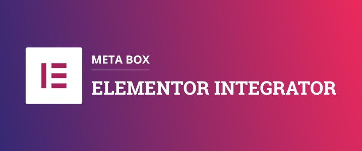 Meta Box - Elementor Integrator
