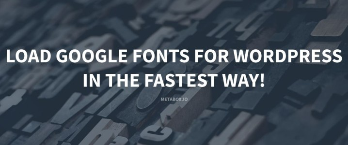 load google fonts wordpress