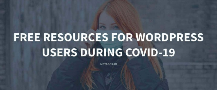 Free resources for WordPress users during COVID-19