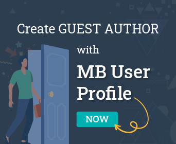 Create guest author with MB User Profile