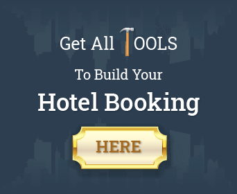 Get all tools to build your hotel booking