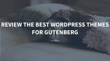 Review Best 7 WordPress Themes for Gutenberg for 2021