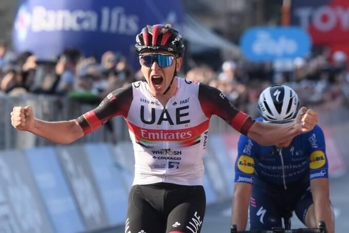 Pogacar campeón Giro Lombardía