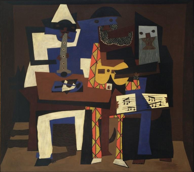 Tres Músicos, Pablo Picasso.