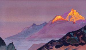 Картина Николая Рериха «Путь в Шамбалу», 1933 г.