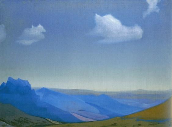 Картина Н.К.Рериха. Наран-Обо. Монголия 1935 (1936?)