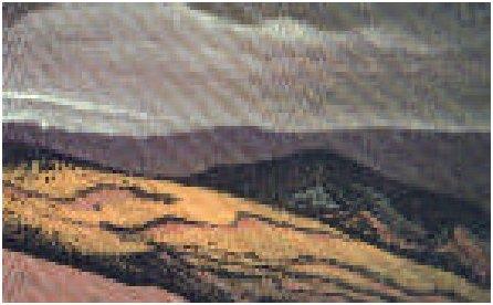 Картина Н.К.Рериха.Монгольские холмы 1938