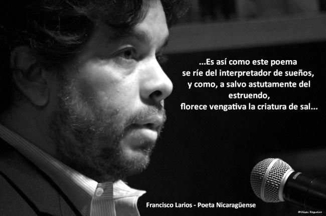 Francisco Larios - Poeta Nicaragüense