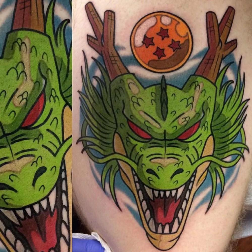 TOP 10 Tatuagens de Dragon Ball Z (Adam Perjatel)