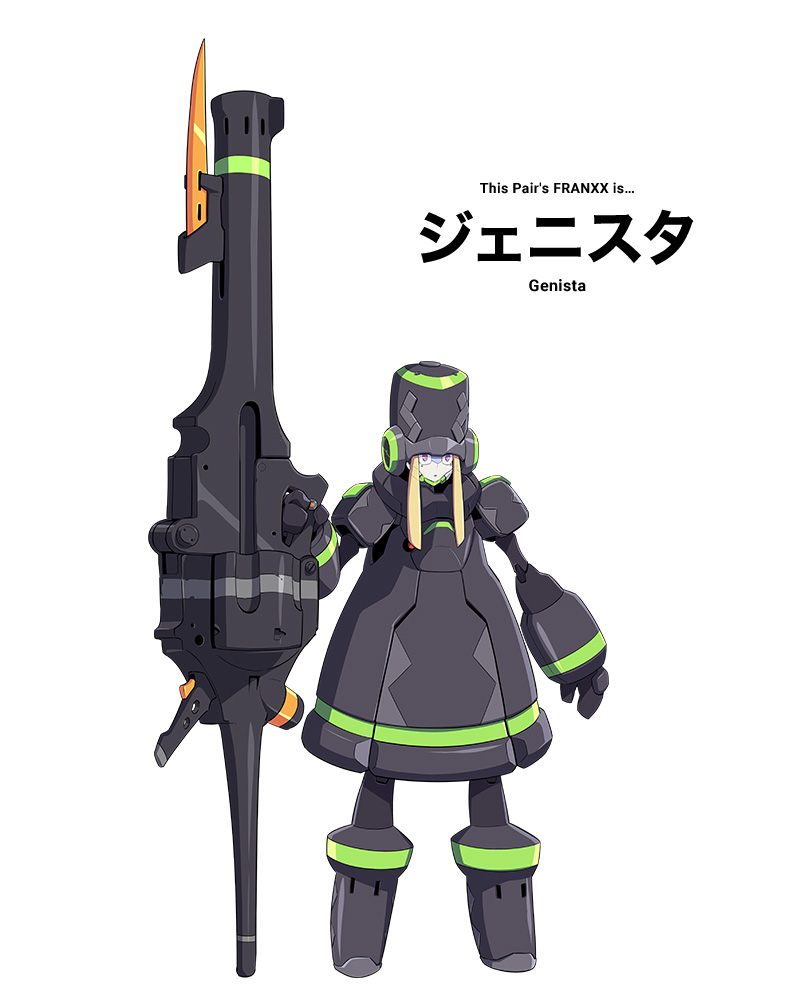genista-personagens darling in the franxx