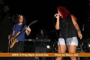 APRIL live @ Prog Night - Animal City, Naher El Kalb