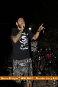Owmar El Hage (Vocalist) from TURBULENCE