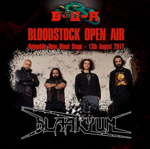 BLAAKYUM Headlines New Blood Stage