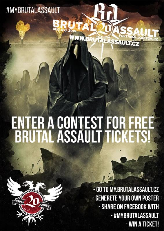 Brutal Assault win ticket