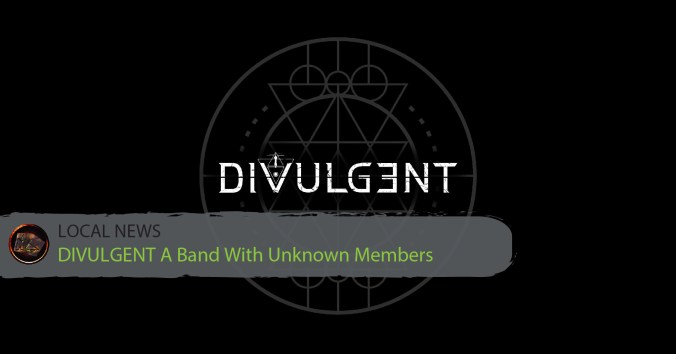 DIVULGENT The Anonymous Band Release First Demo Song!