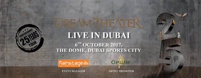 DREAM THEATER Live Dubai