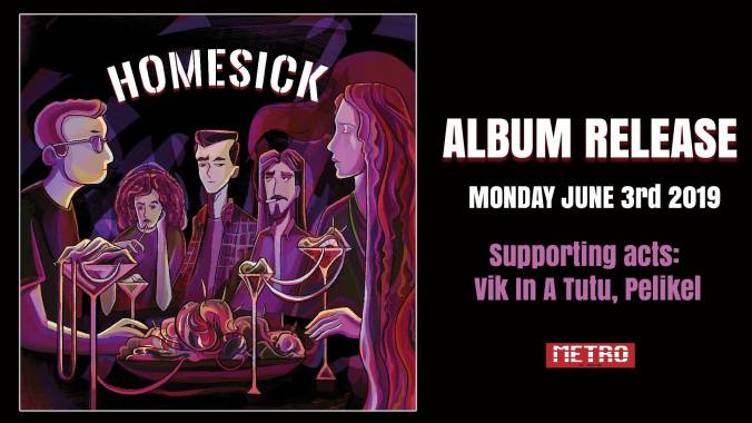 Homesick Album Release