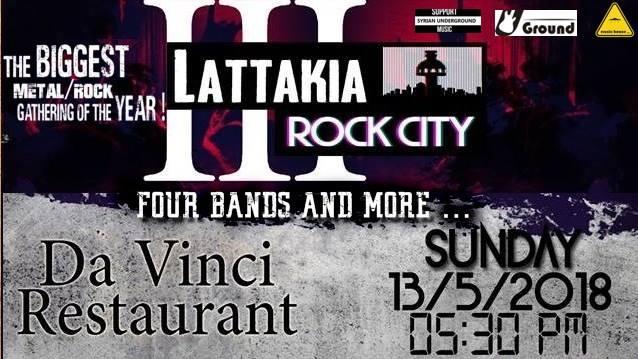 Lattakia Rock City III