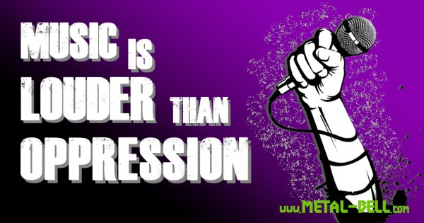 Music Is LOUDER Than Oppression
