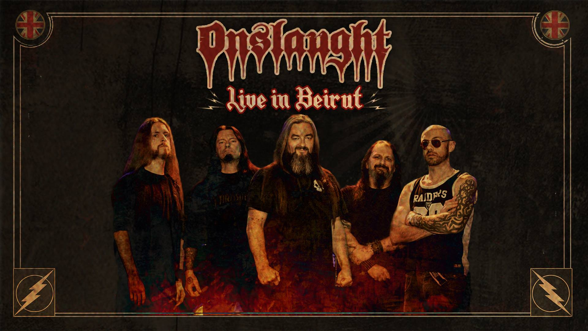 Onslaught Live In Beirut