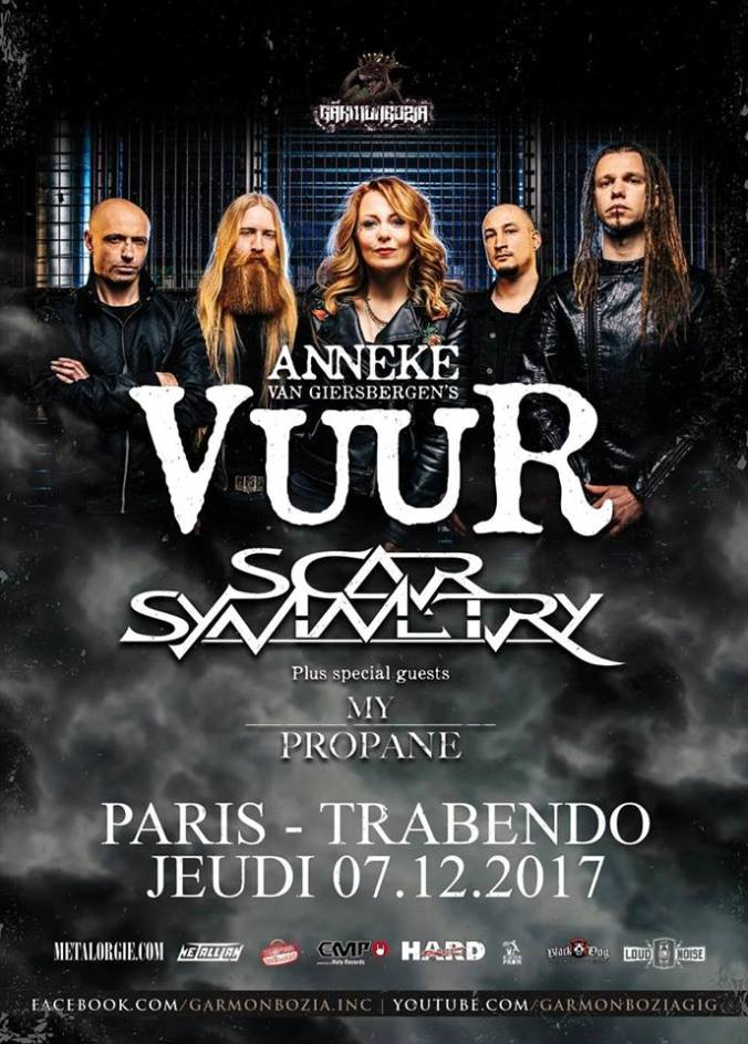 Vuur Live In Paris