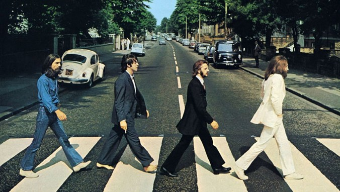 The Beatles Iconic Abbey Road Photo
