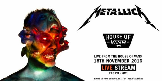 Metallica Will Stream Hardwired