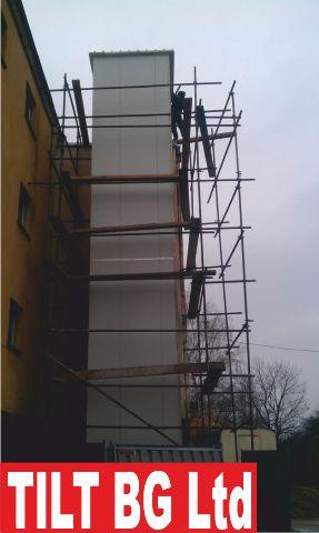 Проектиране на метални конструкции. Производство и монтаж на метални халета. Доставка и монтаж на термопанел и плоскости от поликарбонат