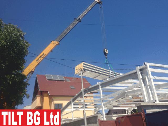 Цех за лазерно рязане Проектиране, производство, доставка и монтаж на метална конструкция Доставка и монтаж на термопанел за стени и покрив