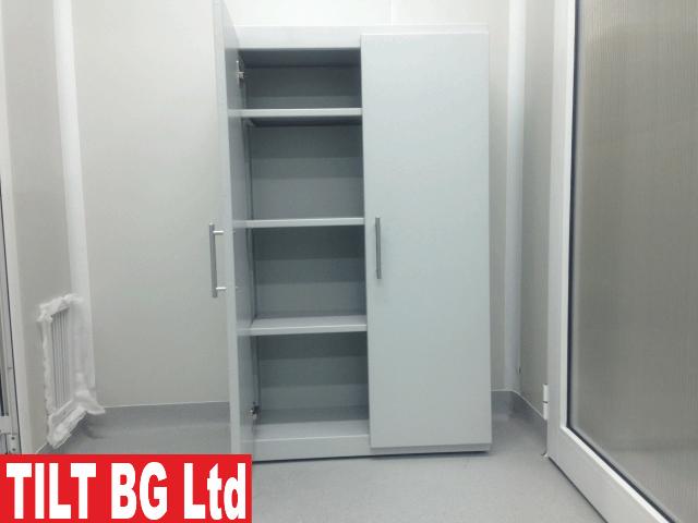 Метални шкафове. Производство по спецификация. Изработка и монтаж на метални шкафове от черна ламарина, неръждаема стомана, прахово боядисване и др.