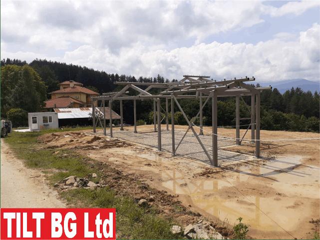 Строителство на къщи със сглобяема метална конструкция