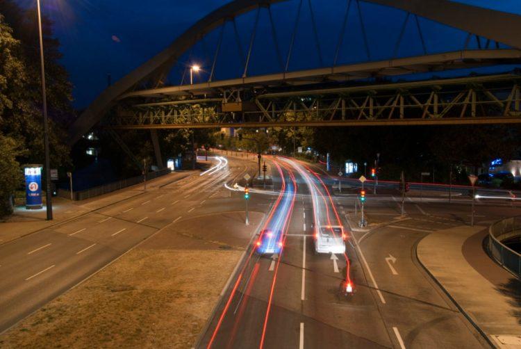Wuppertal bei Nacht | © 2018 by Karl - Heinz Schultze (KHSFotographie)