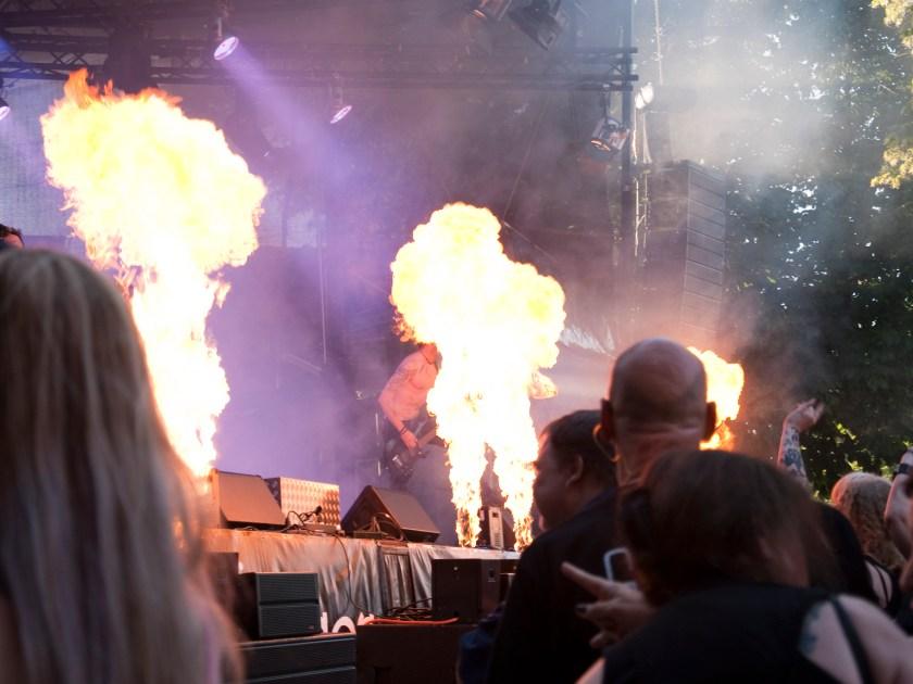Casle Rock Festival - Stahlmann Feuershow