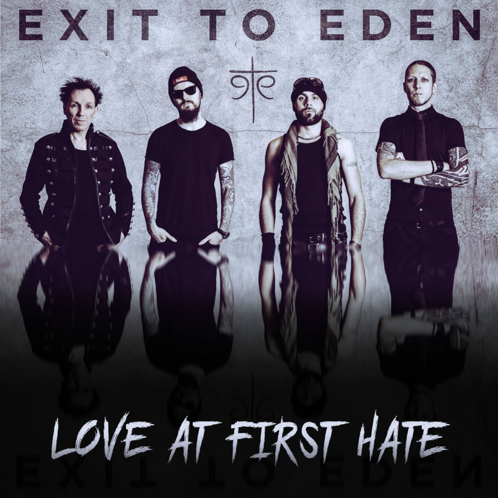 Exit To Eden - Love At First Hate Artwork