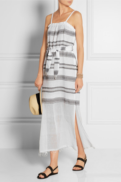 Lemlem Addis Striped Cotton-blend Gauze Dress £225