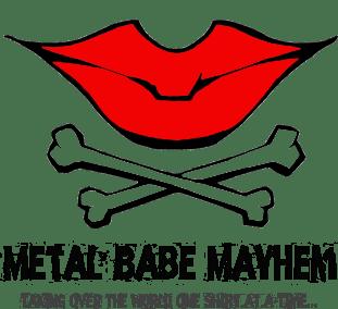 Metal Babe Mayhem Lips Logo