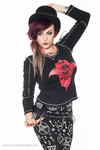 Gothic clothing and accessories by The Black Angel
