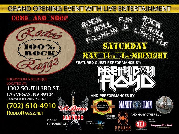 Rodeo Raggz opening