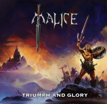 0A - Malice - Triumph and Glory cd cover