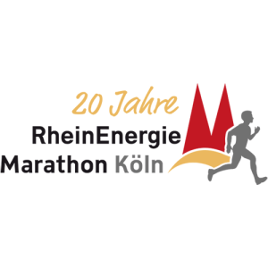 Köln-Marathon-logo - Metal badge clients
