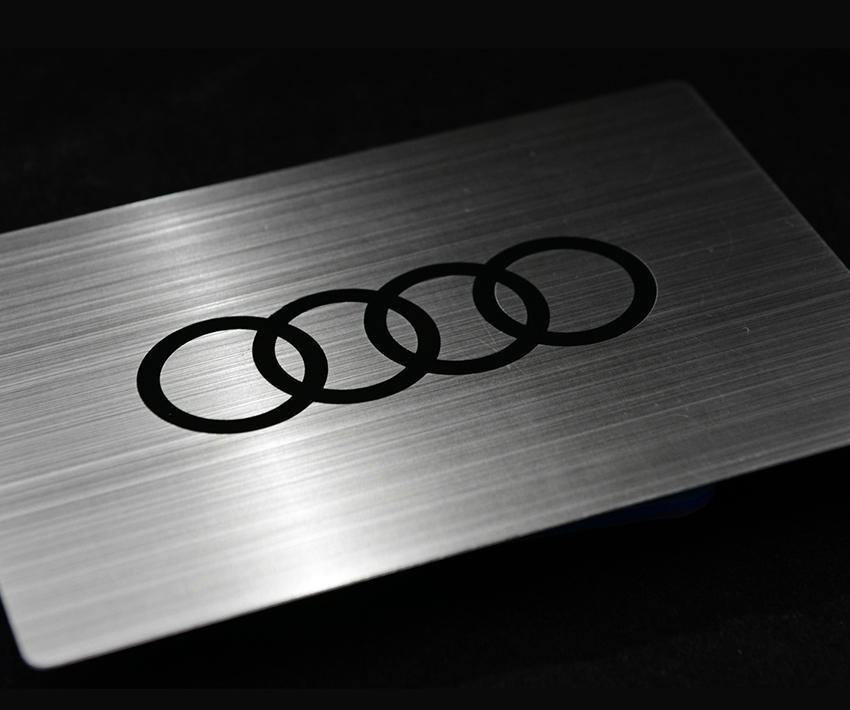 Audi Metal Card Invitation