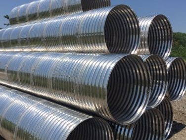 Corrugated Aluminum Pipe