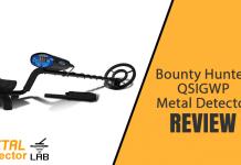 Bounty hunter quicksilver metal detector