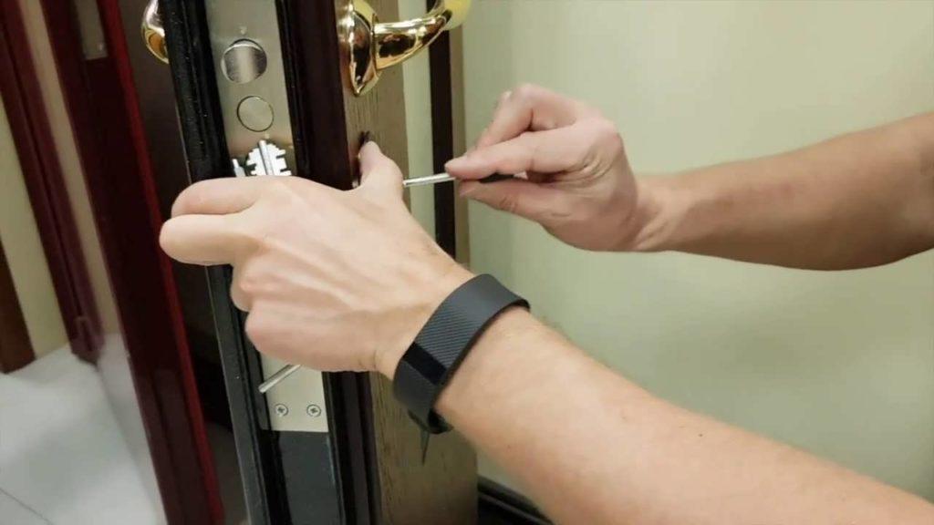 Recoding ang input pinto lock