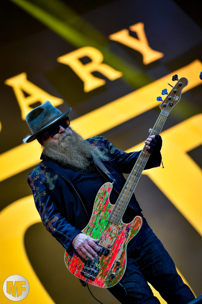 ZZ Top sur la scène du Hellfest Open Air 2019