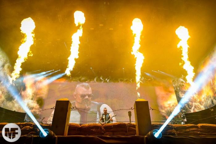 Sabaton sur la scène du Hellfest Open Air 2019