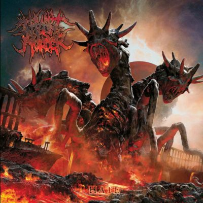 THY ART IS MURDER, Hate, 2012.