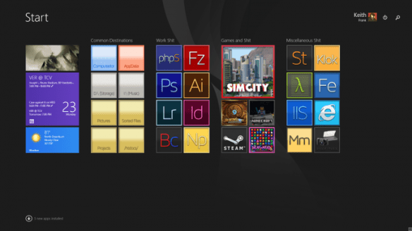 Custom Olby Tiles for Windows 8.1