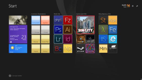 Custom Olby Tiles for Windows 8.1