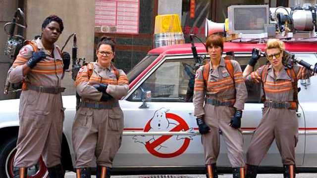 What's up with the new Ghostbusters?